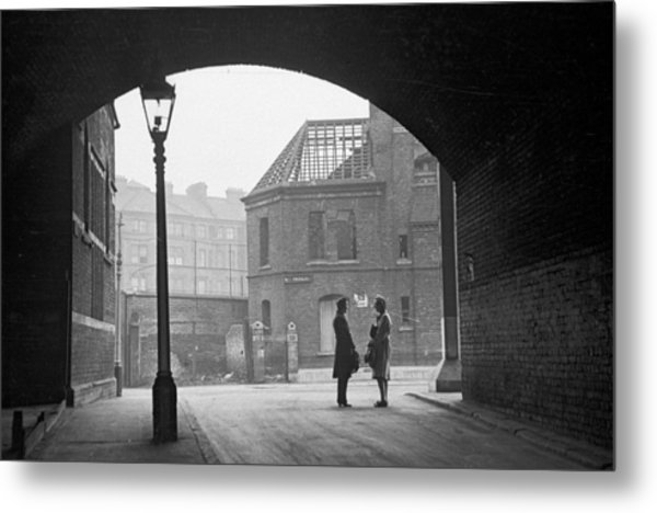 South London Street Metal Print