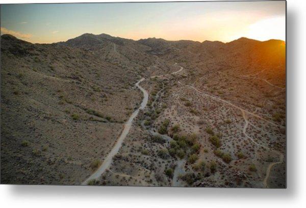 South Mountain Canyon Metal Print