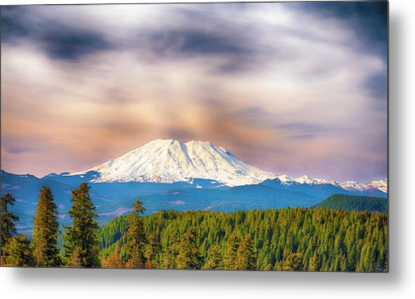 South Side View Of Mt. St. Helens Metal Print