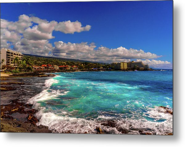 Southern View Of The Shore Metal Print