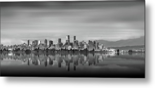 Special View Of Downtown Vancouver Metal Print