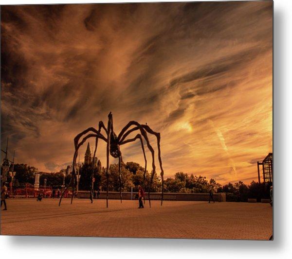 Spider Maman - Ottawa Metal Print