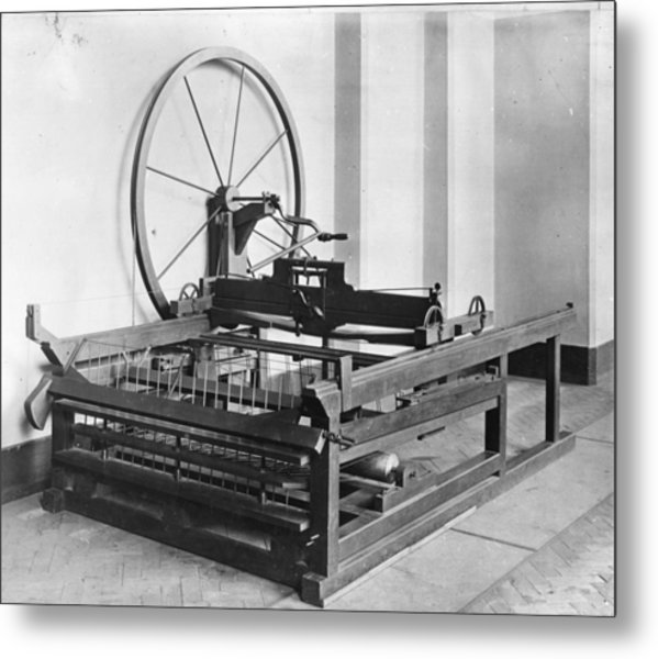 Spinning Jenny Metal Print by Hulton Archive