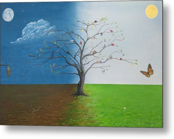 Spirit Of Eden Metal Print