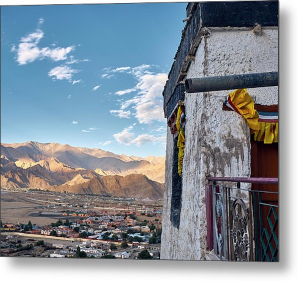 Metal Print featuring the photograph Spituk Gompa by Whitney Goodey
