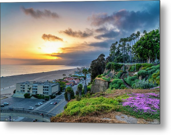 Spring In The Park On The Bluffs Metal Print