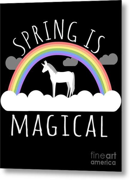 Spring Is Magical Metal Print
