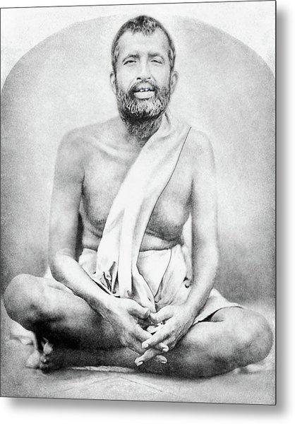 Sri Ramakrishna Metal Print