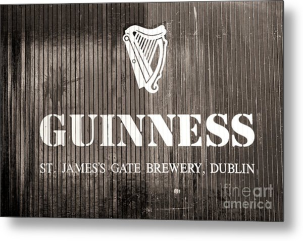St. James Gate Brewery Dublin Metal Print