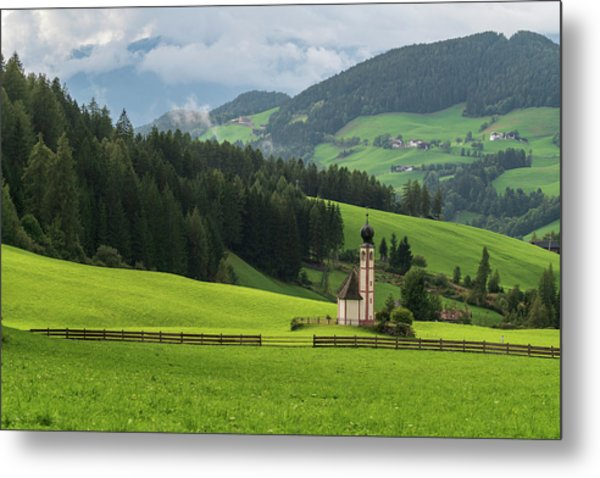 St Johann From The East Metal Print