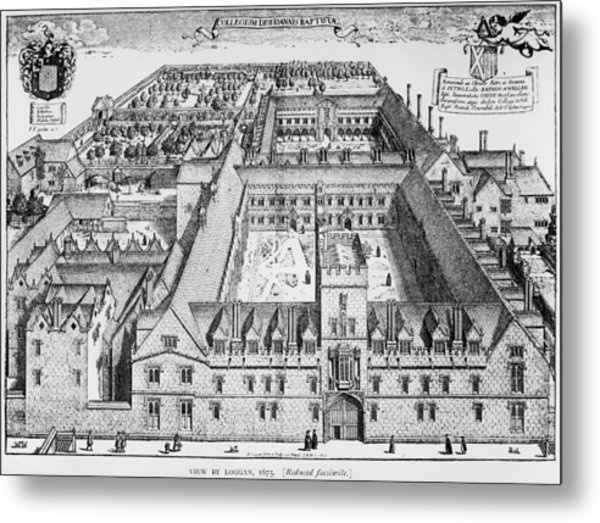 St Johns College Metal Print by Hulton Archive