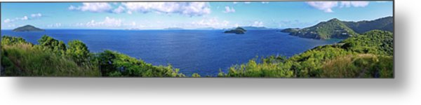St. Thomas Northside Ocean View Metal Print