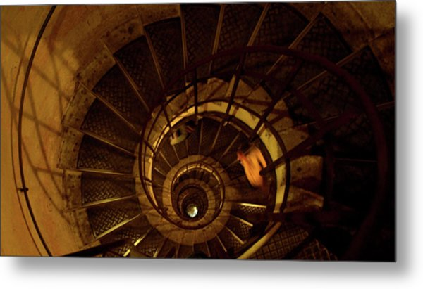 Metal Print featuring the photograph Stairs by Edward Lee