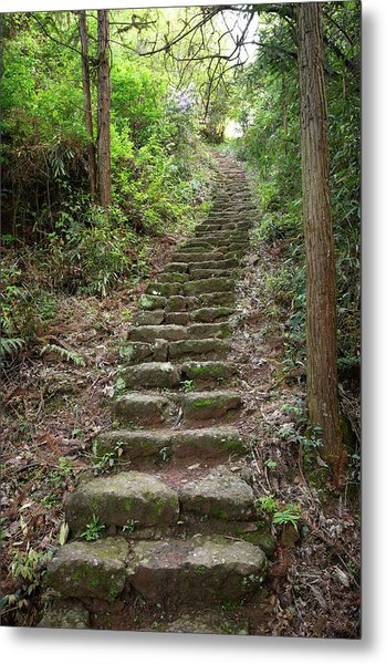Stairs To Heaven Metal Print