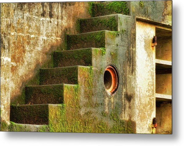 Stairway Abstract Metal Print