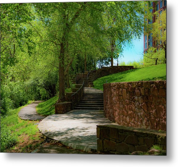 Stairway To Carlyle Metal Print