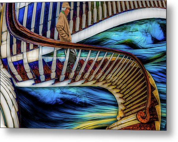 Stairway To Perdition Metal Print