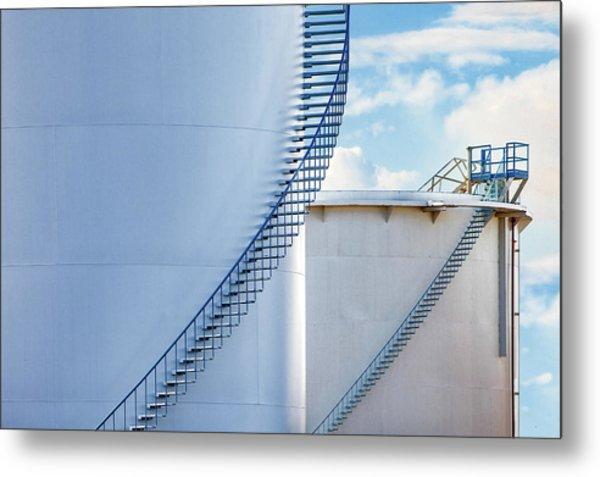 Stairways To Metal Print
