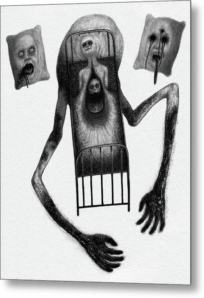 Stanley The Sleepless - Artwork Metal Print