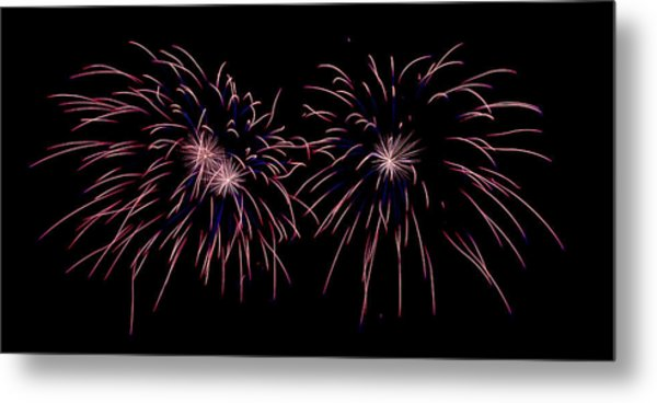 Metal Print featuring the photograph Starbursts by William Dickman