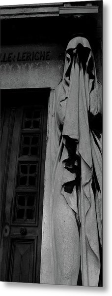 Metal Print featuring the photograph Statue, Pass By by Edward Lee