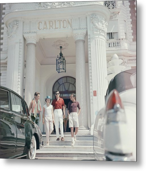 Staying At The Carlton Metal Print