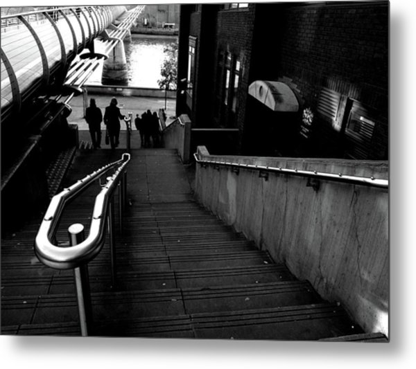 Metal Print featuring the photograph Steps by Edward Lee