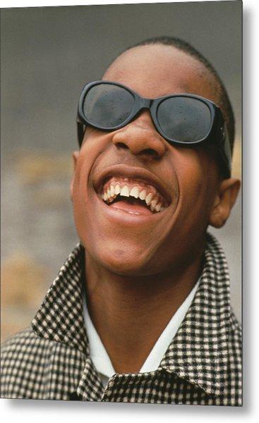 Stevie Wonder Metal Print by Archive Photos