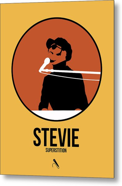 Stevie Wonder Metal Print