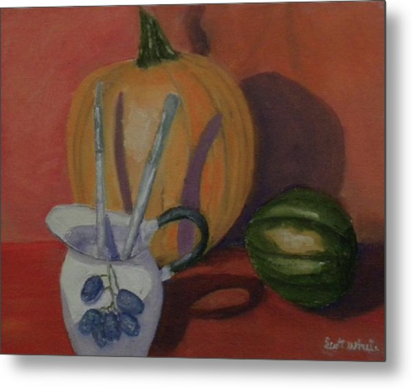 Still Fall Life Metal Print