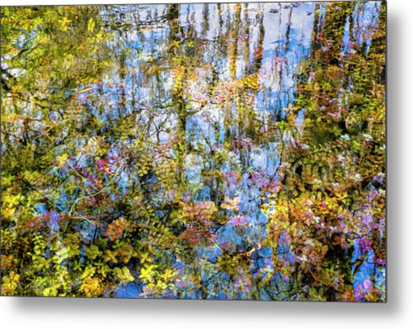 Stillness Holds Everything Metal Print