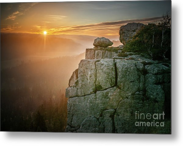 Stolowe Mountains National Park In Metal Print