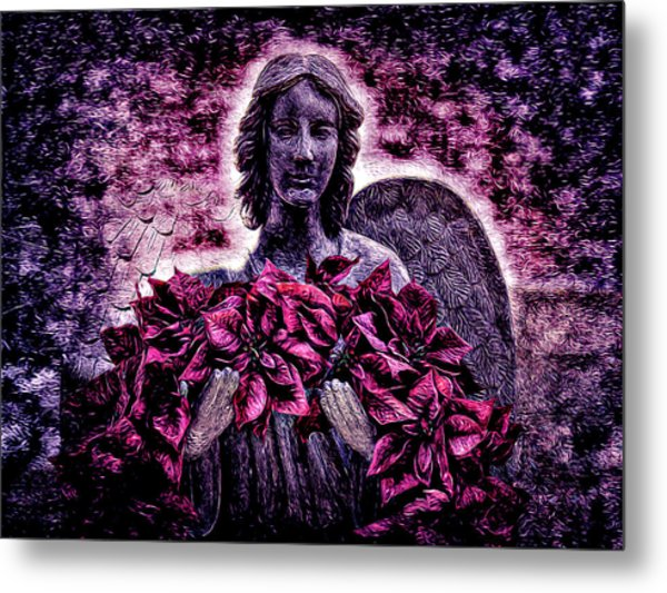 Stone Angel Metal Print