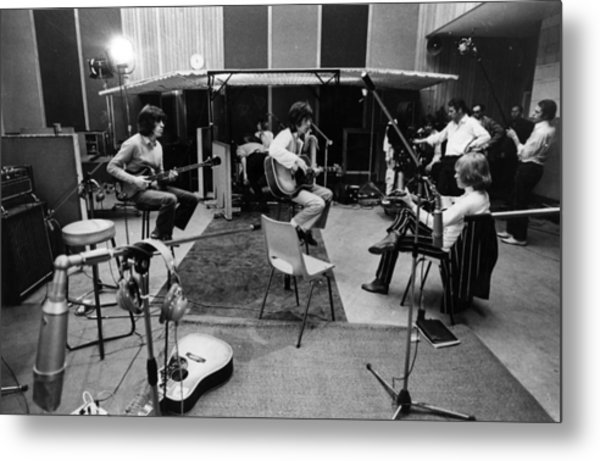 Stones Session Metal Print by Keystone Features