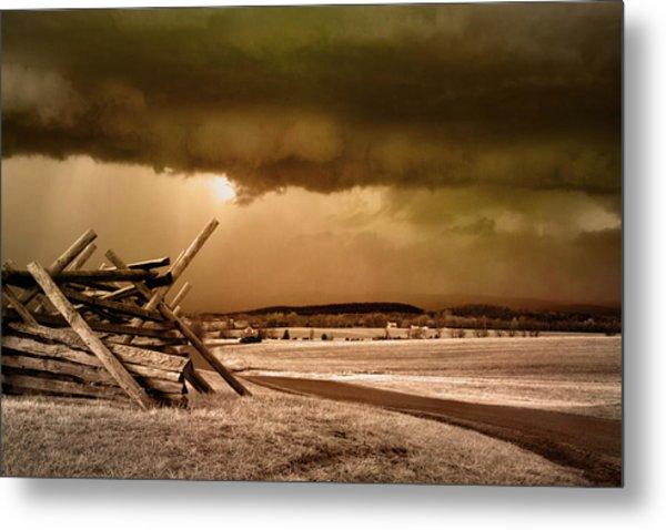 Storm Brewing Metal Print