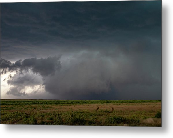 Storm Chasin In Nader Alley 030 Metal Print