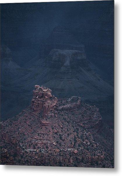 Storm Has Arrived, Grand Canyon Metal Print