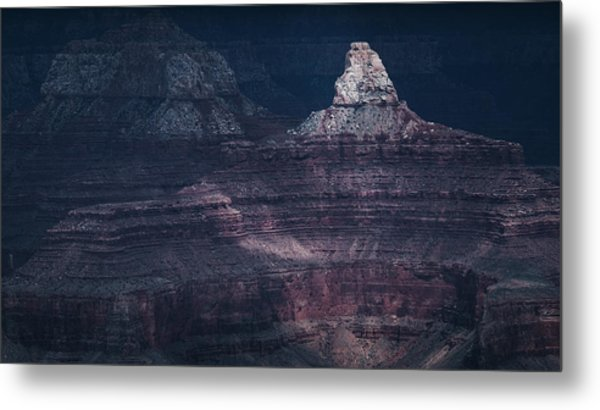 Storm In The Grand Canyon II Metal Print