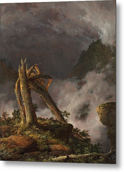 Storm In The Mountains, 1847 Metal Print