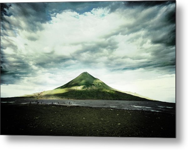 Stratovolcano In Nicaragua Metal Print
