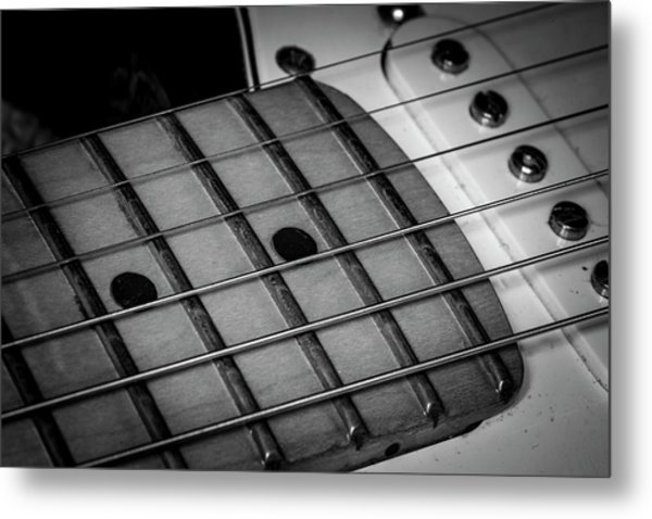 Metal Print featuring the photograph Strings Series 12 by David Morefield