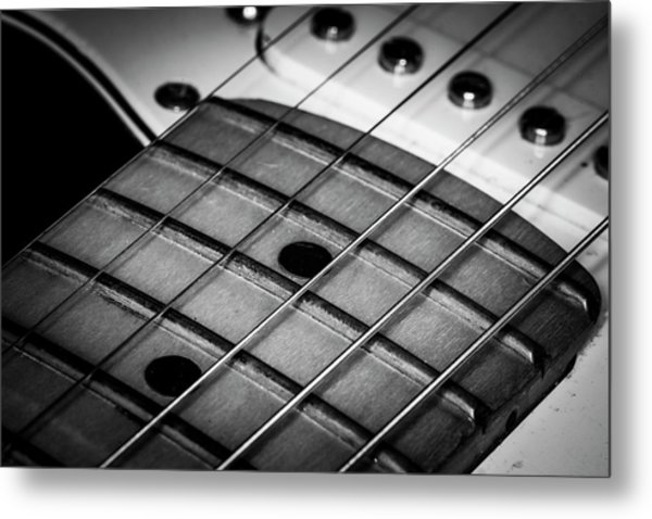Metal Print featuring the photograph Strings Series 13 by David Morefield