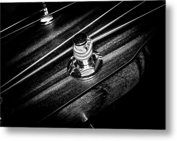 Metal Print featuring the photograph Strings Series 14 by David Morefield