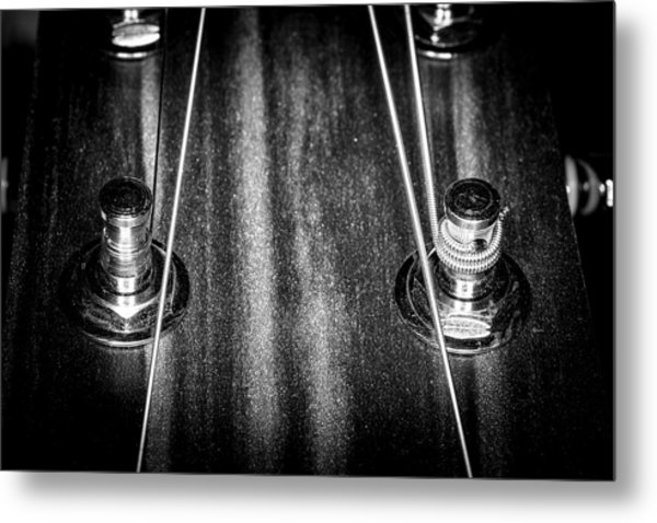 Metal Print featuring the photograph Strings Series 16 by David Morefield