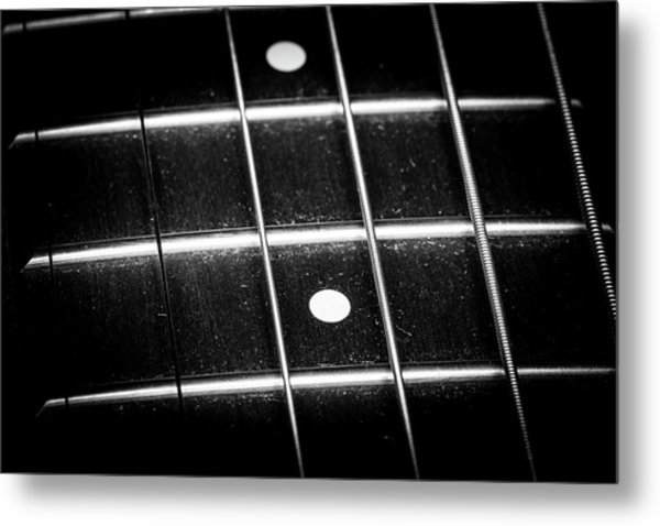 Metal Print featuring the photograph Strings Series 19 by David Morefield