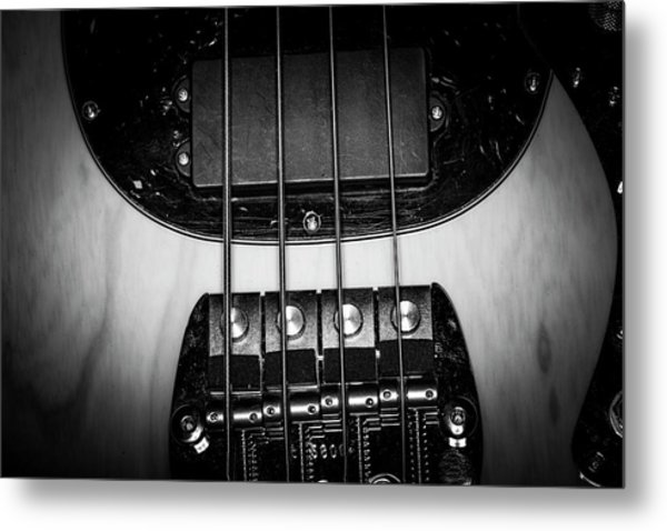 Metal Print featuring the photograph Strings Series 25 by David Morefield
