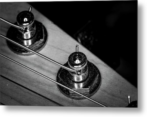 Metal Print featuring the photograph Strings Series 9 by David Morefield