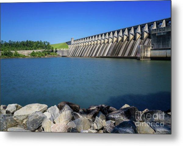Strom Thurmond Dam - Clarks Hill Lake Ga Metal Print