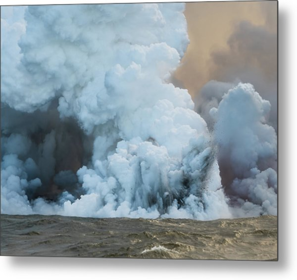 Metal Print featuring the photograph Submerged Lava Bomb by William Dickman
