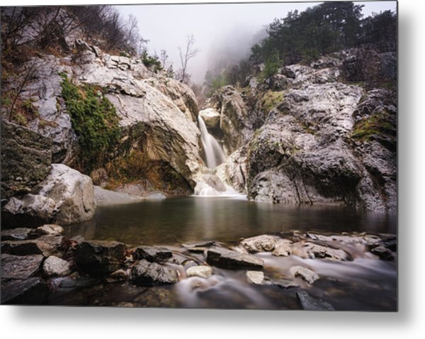 Suchurum Waterfall, Karlovo, Bulgaria Metal Print